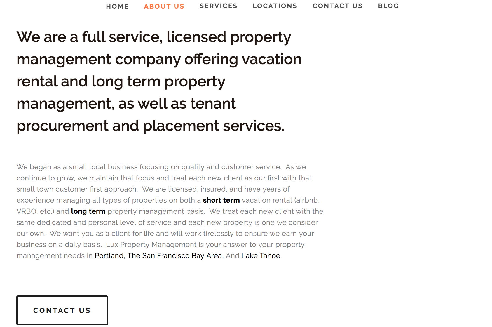 website design portland