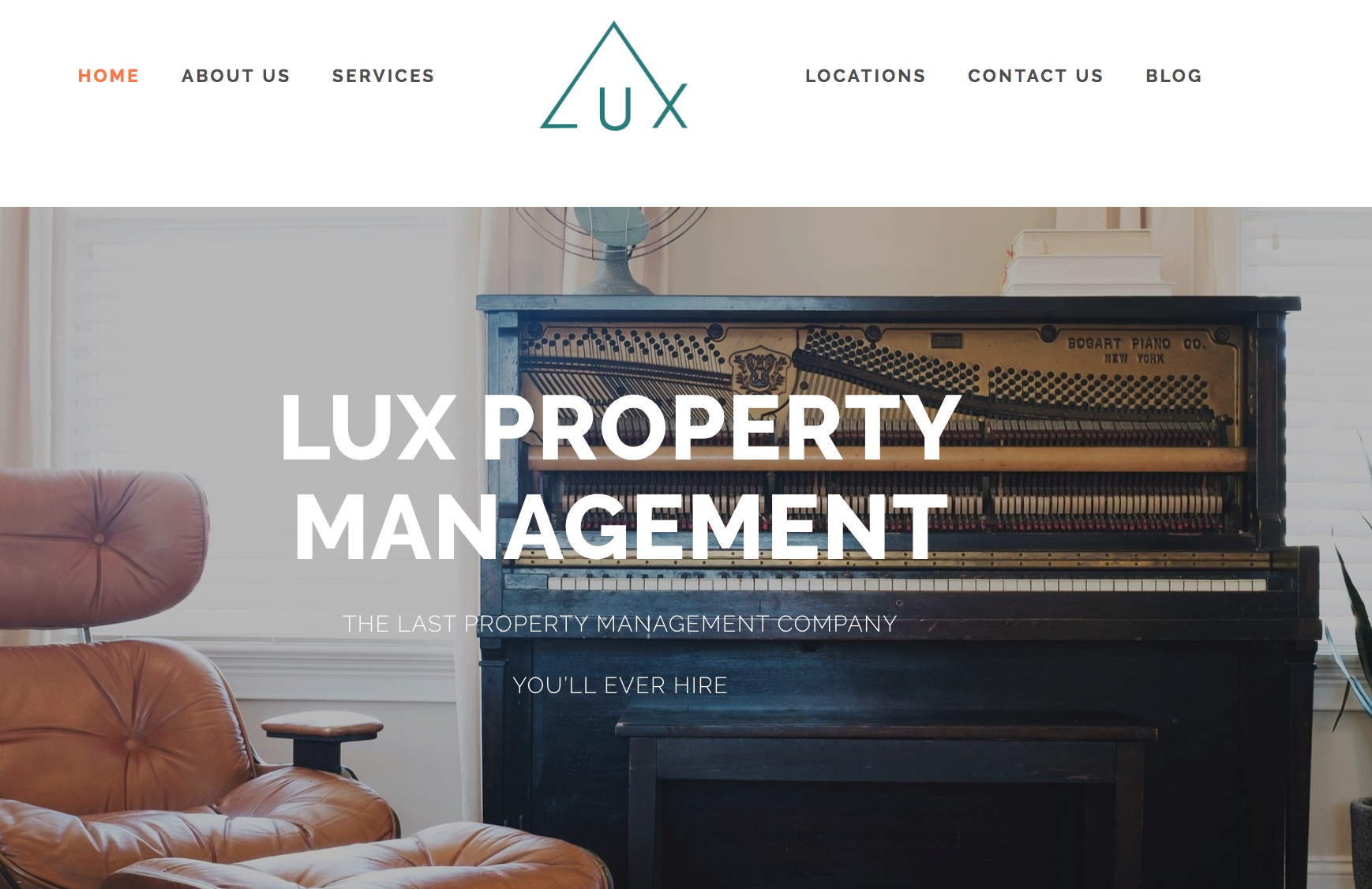 website launch and design portland