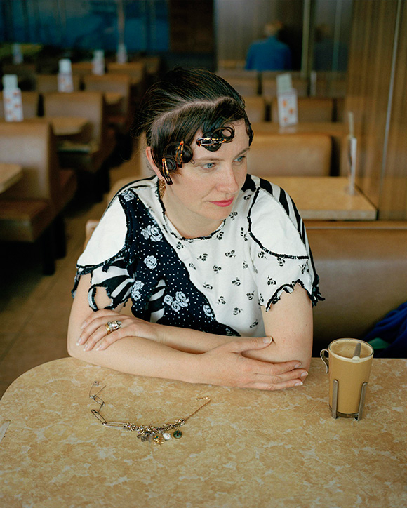 Delaine in the Cafe by The Sea, 2005
