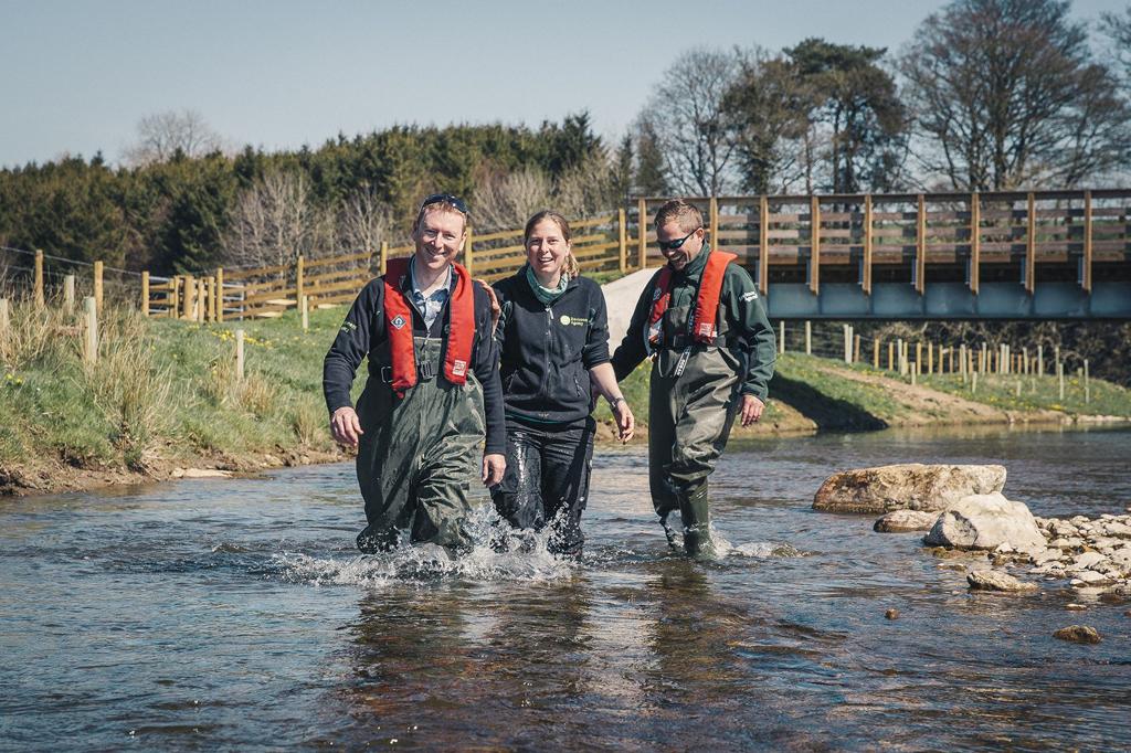 The team in Cumbria