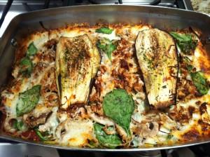 Eggplant Turkey Lasagna