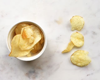 olive oil chips out of bag