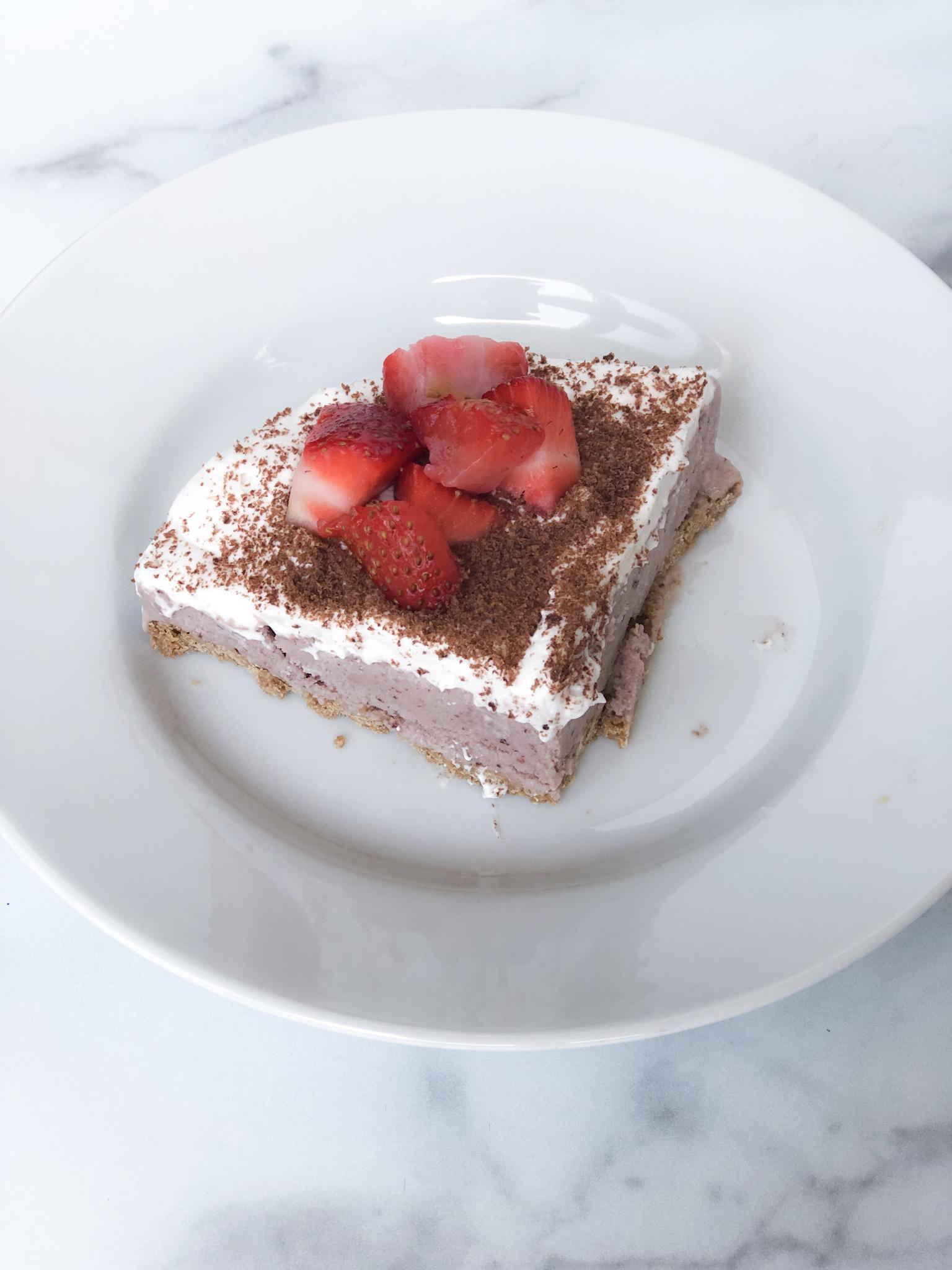 cherry ice cream pie slice.JPG