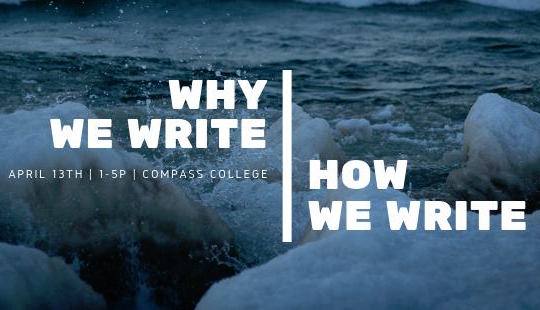 """Why We Write 