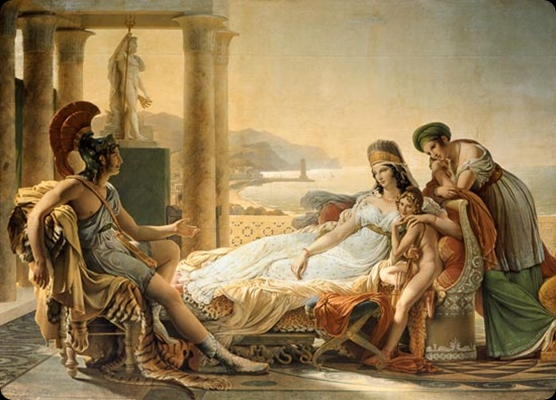 Enej ob kartažanski kraljici Dido