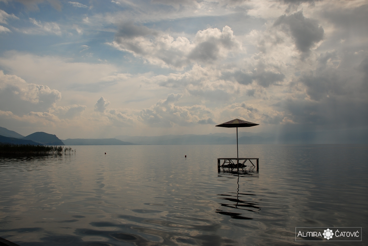 OHRID LAKE. Macedonia