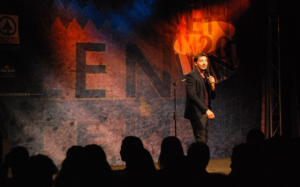 Festival Lent and Stand-up show - One of the biggest festivals in Slovenia, Festival Lent, and comedians at Stand-up show.