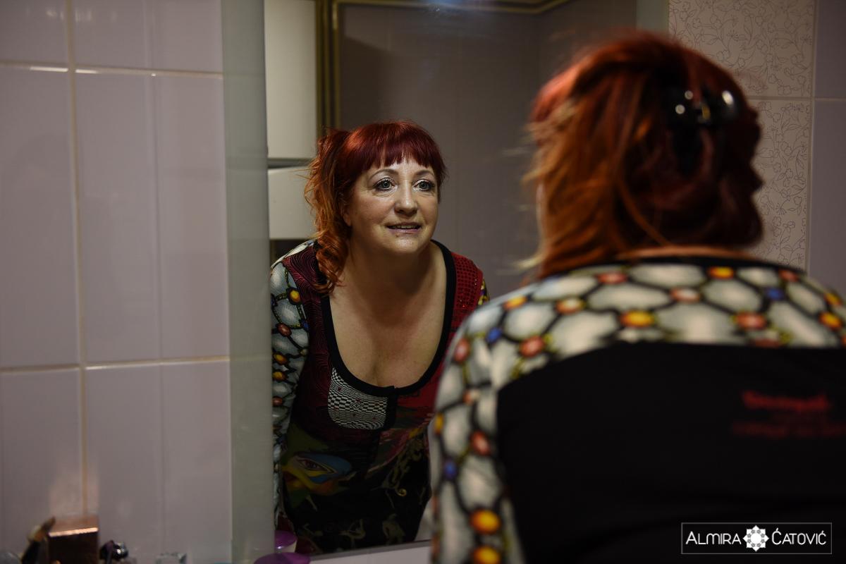 Po rekonstrukciji dojke, se je ponovno počutila celo in ženstveno ter ponovno začutila sebe kot žensko v celoti.