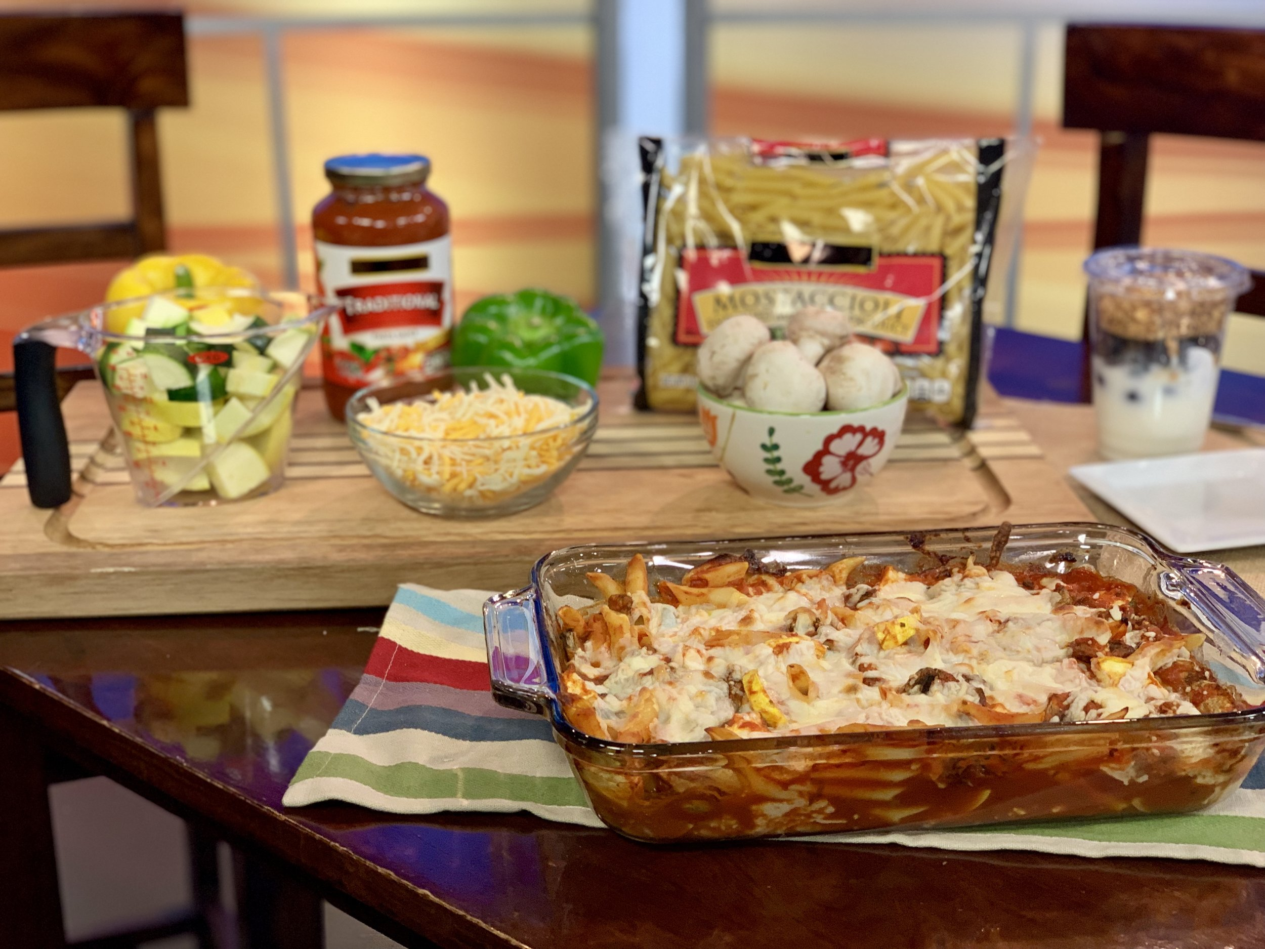 Easy Italian Pasta Bake - Recipe by The Dairy Alliance