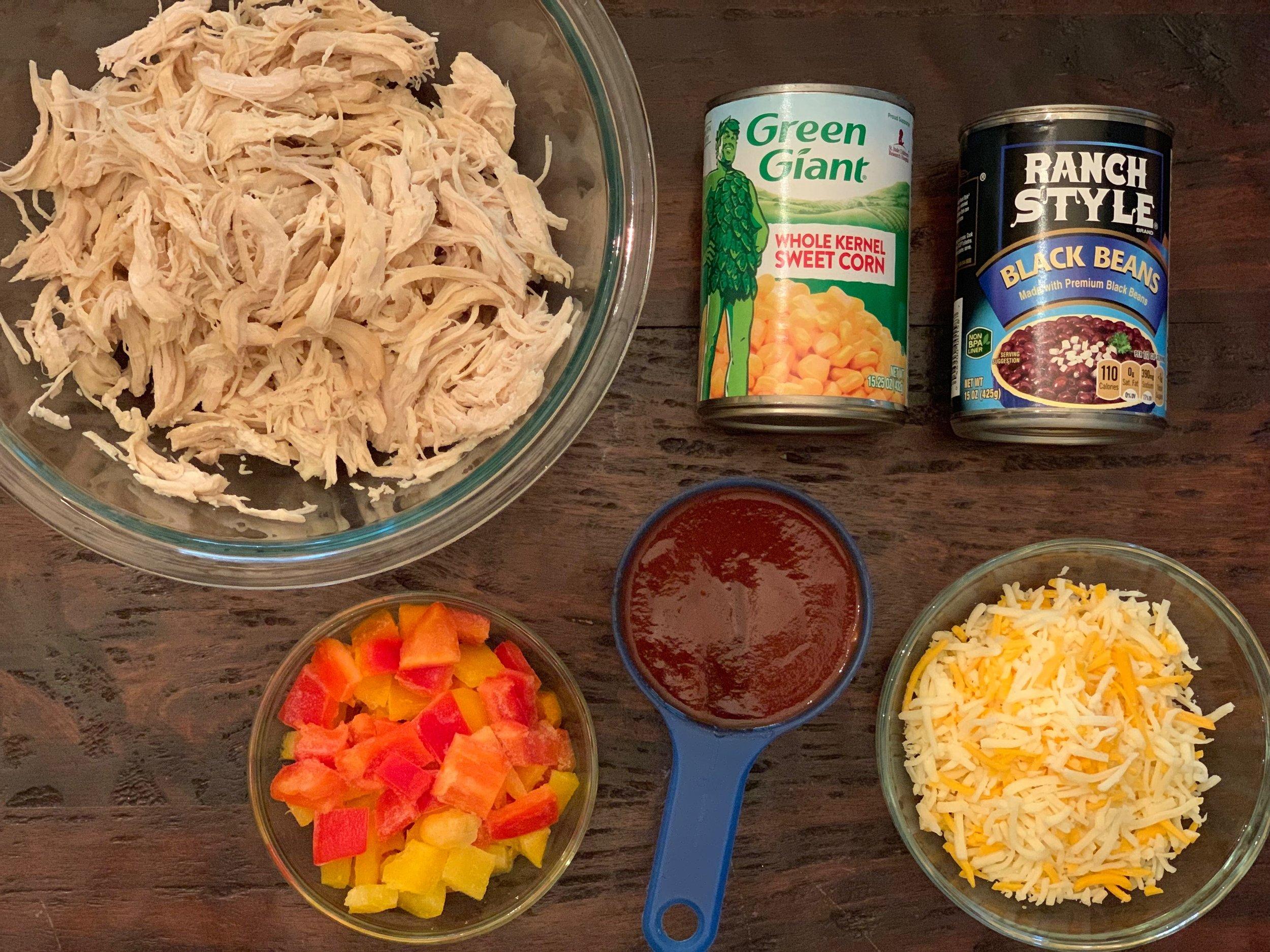Another Chicken Casserole Recipe Ingredients