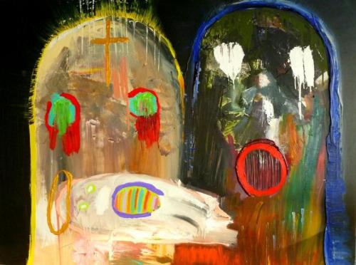 Painting by Chloe Heymans '14