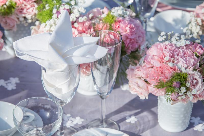 Wedding Pink Carnations