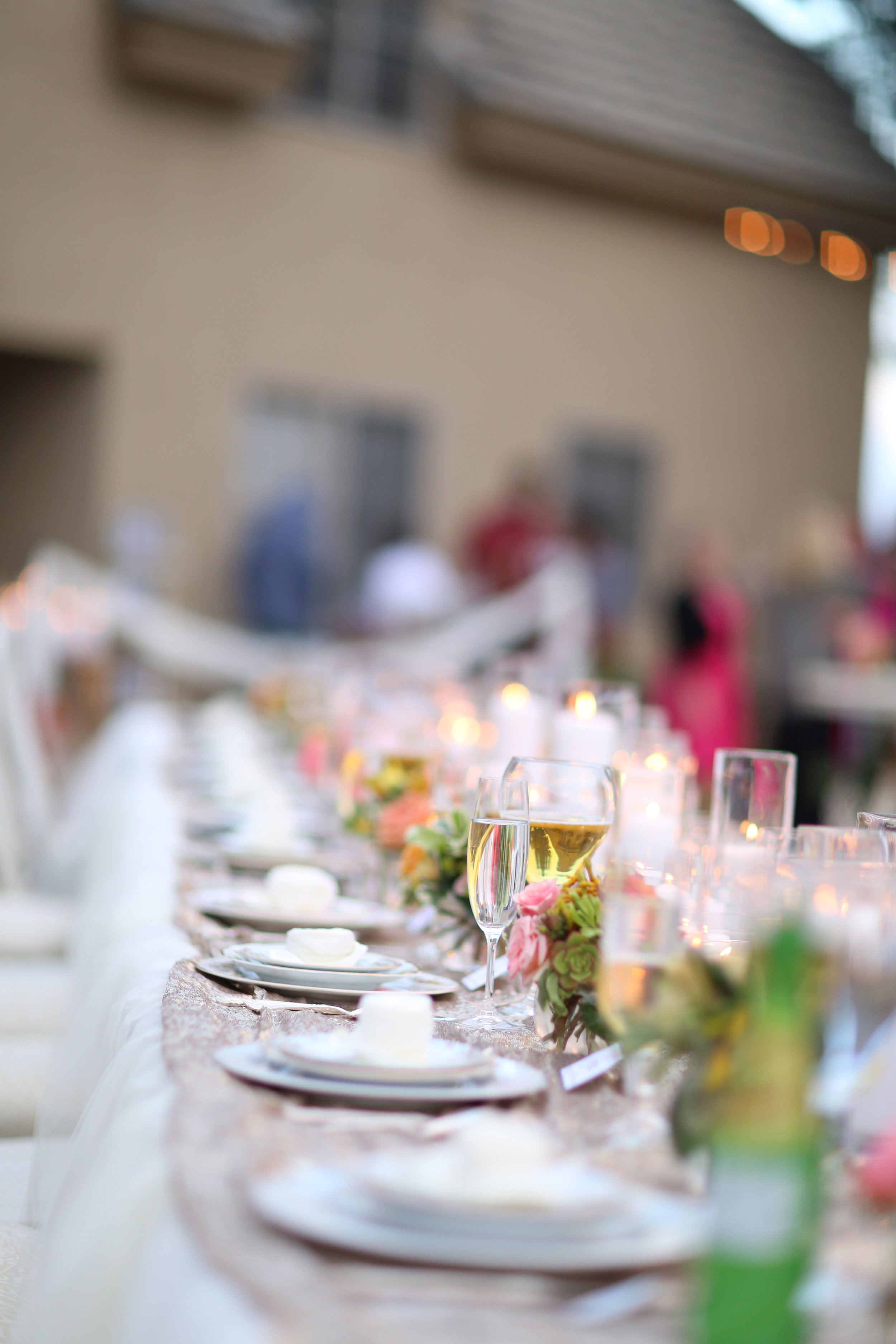 Bride and Groom head table