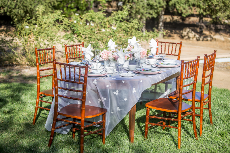 Fifties Wedding Table