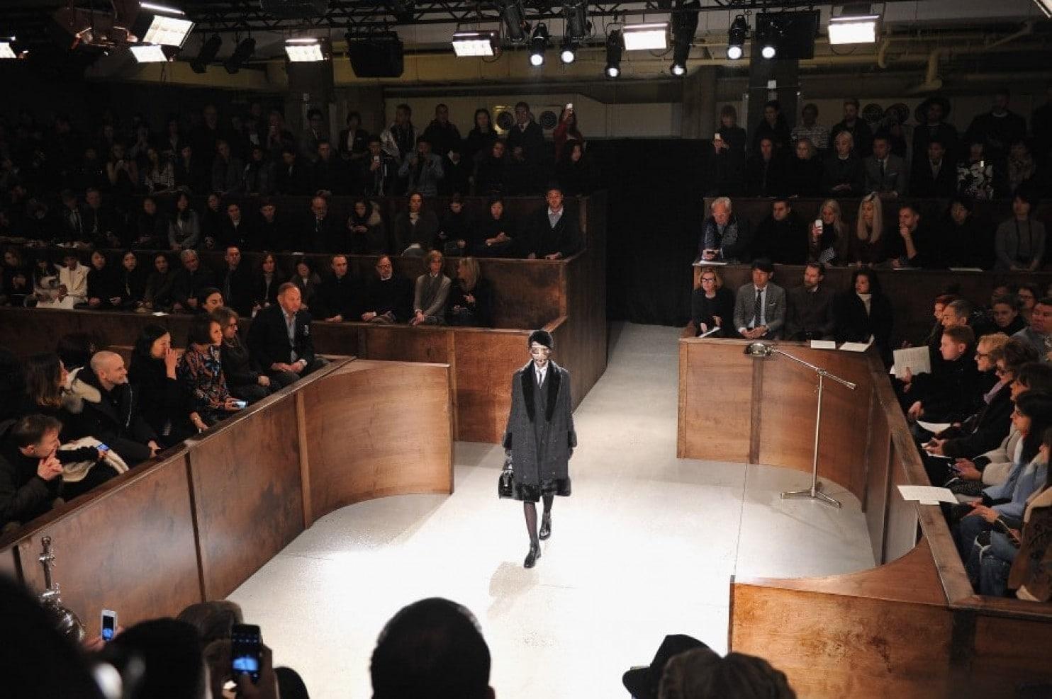 Thom Browne Fall 2015 Womenswear