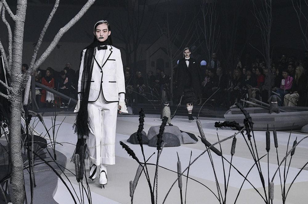 Thom Browne Fall 2017 Womenswear
