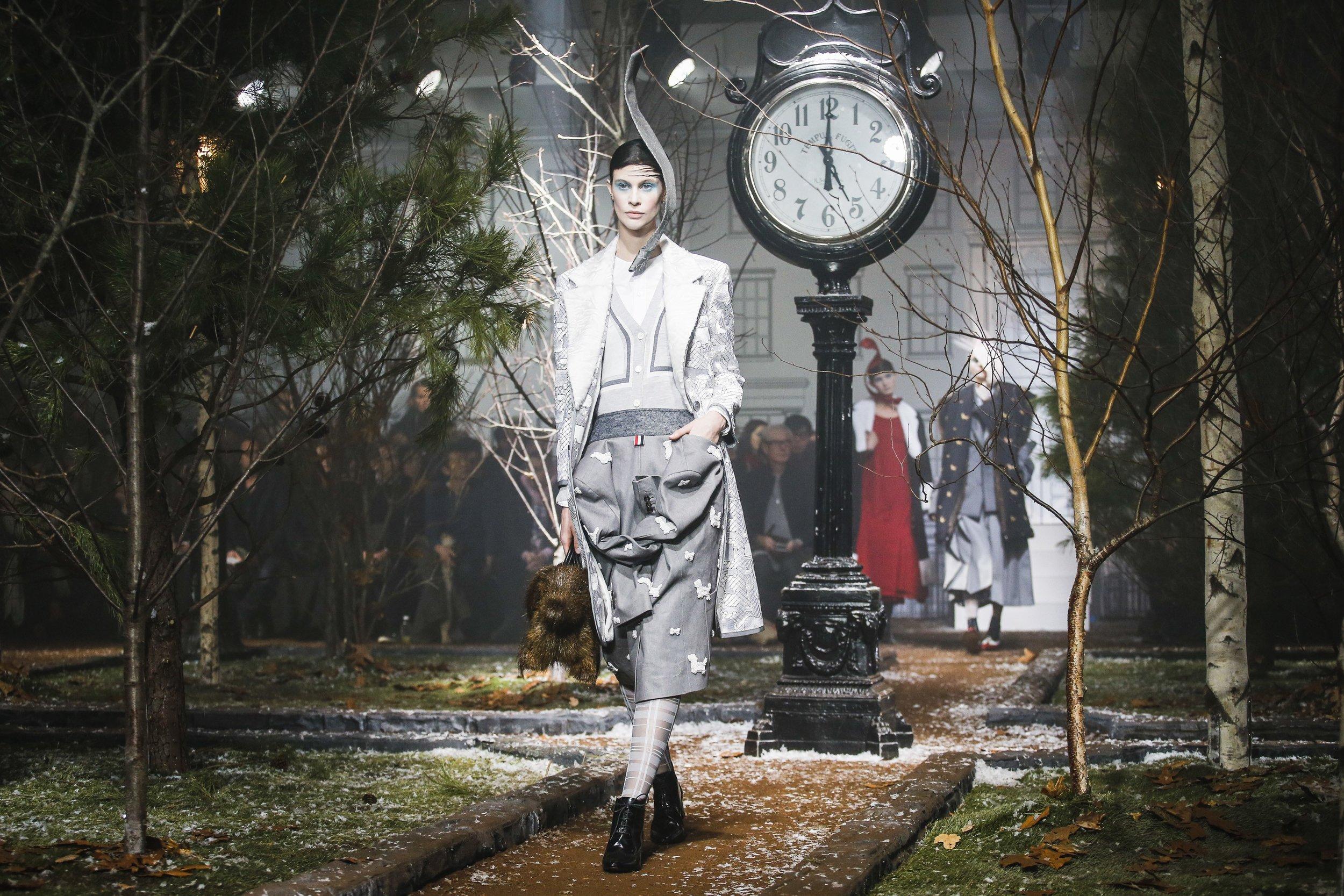 Thom Browne Fall 2016 Womenswear