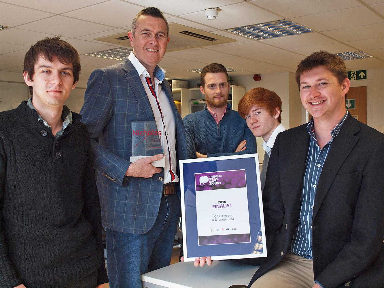 International award tops success run for local digital agency 3
