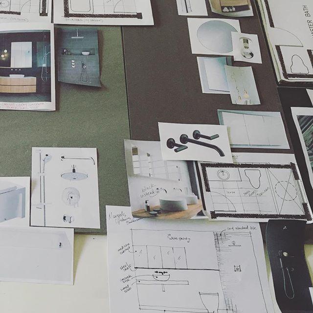 Sometimes you gotta go old school. #designpresentation #wodesigns
