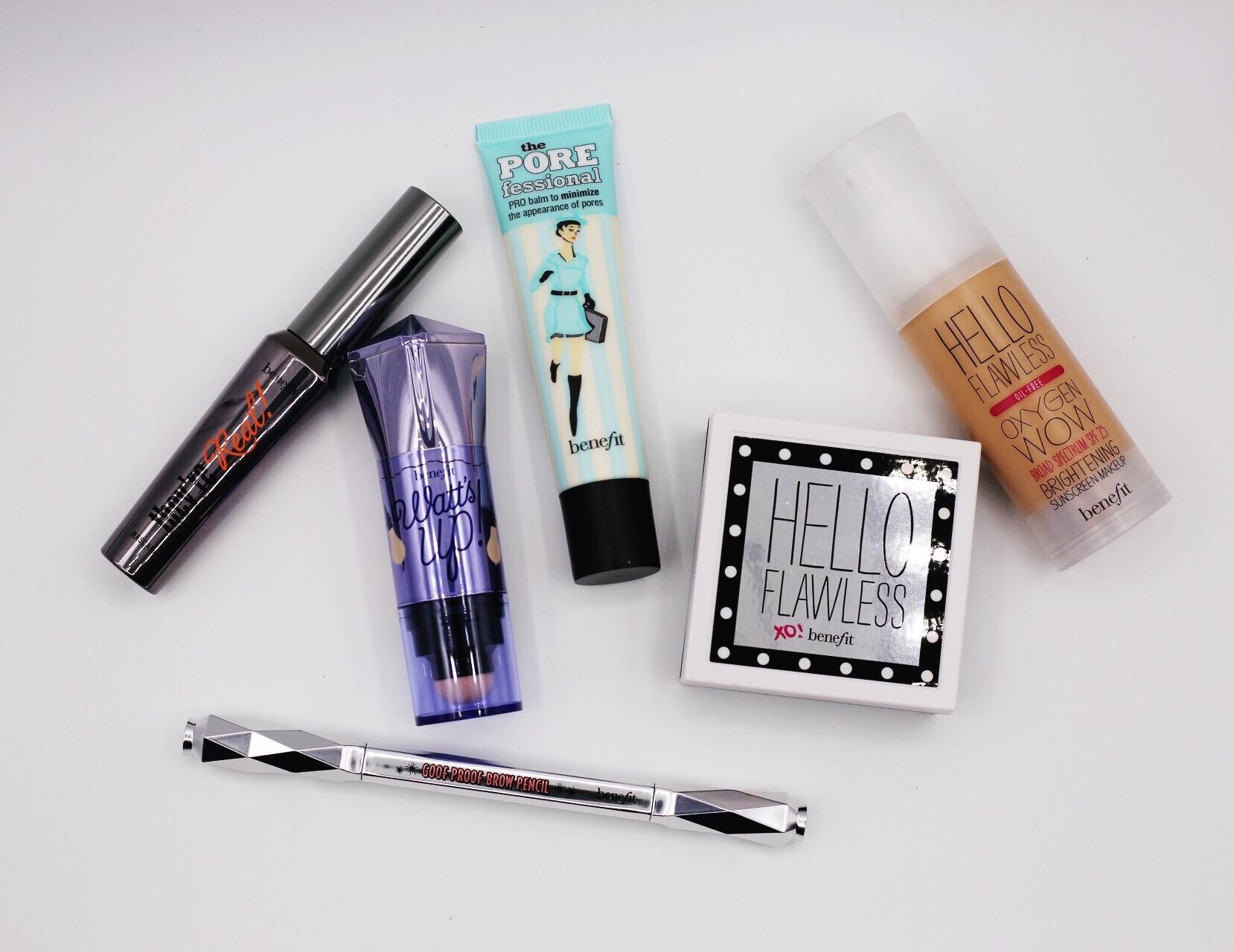 Kit de maquiagem da Benefit MARAVILHOSO!