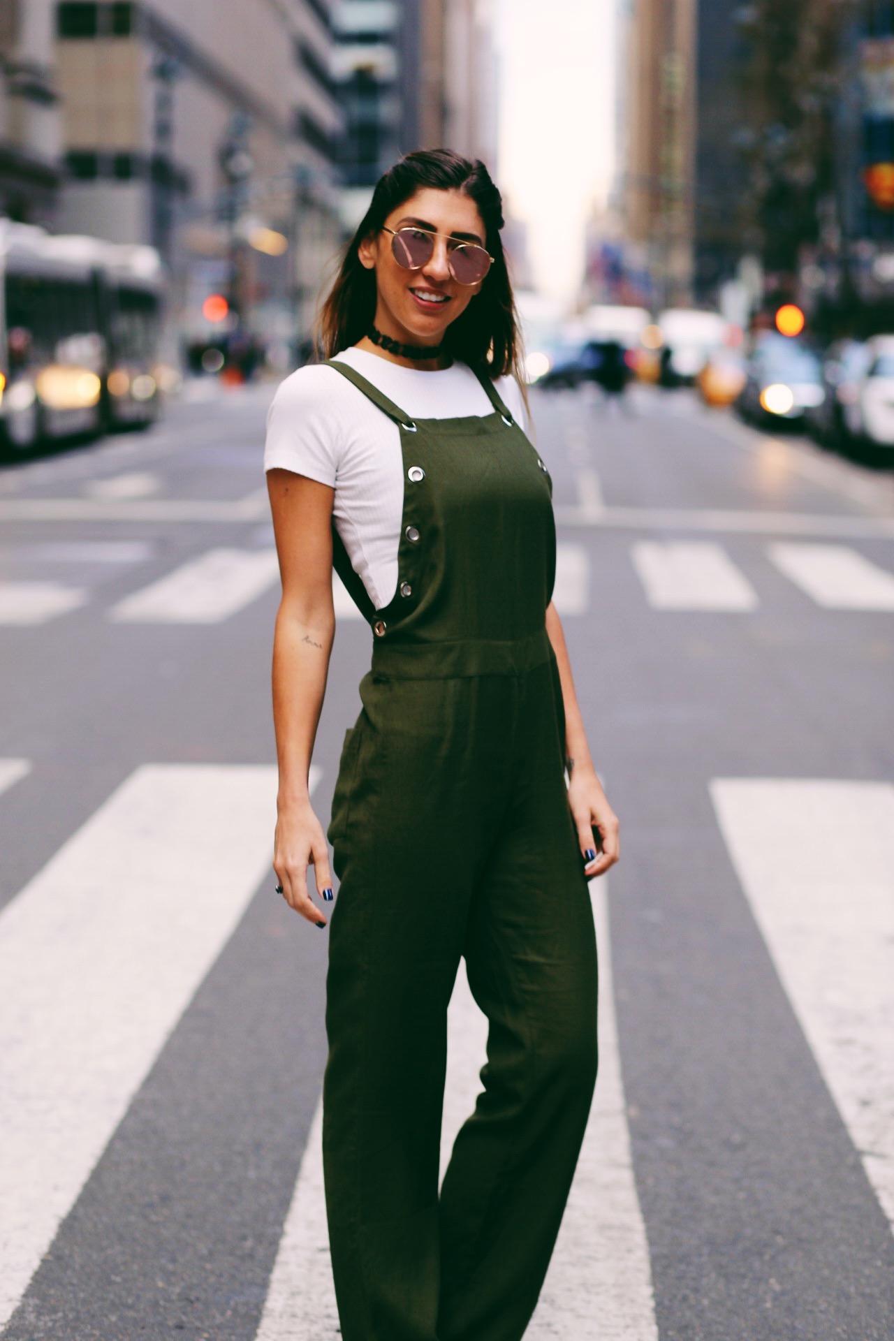 Lu D'Angelo  na semana da moda de Nova York