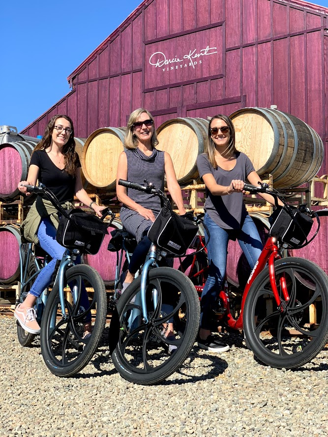 Explore Livermore Valley Wine Country in a Brand New Way - Rent by the hour or day, Buy a Bike of Your Own, Or Just Try One!
