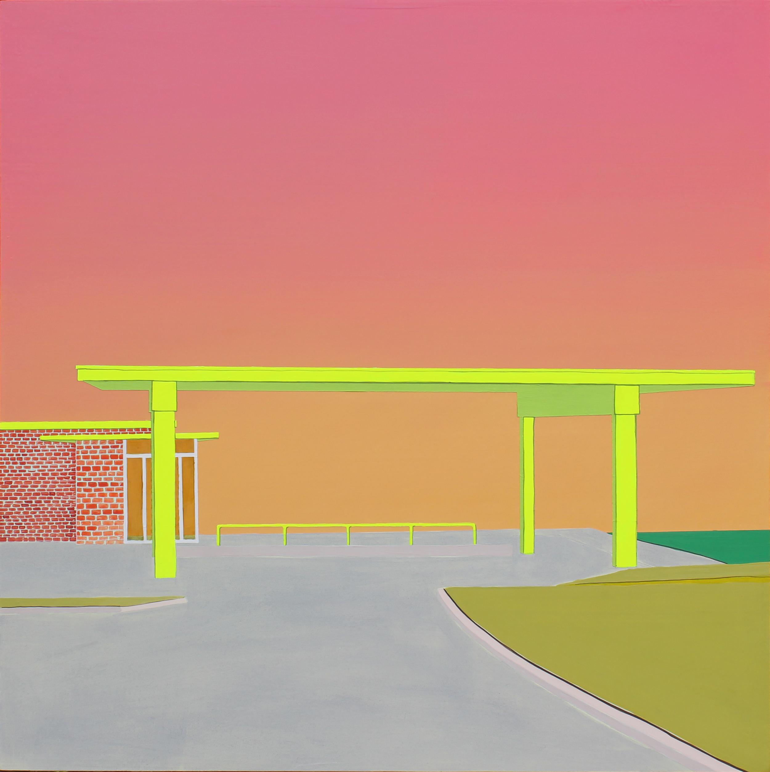 Gas Station Sunrise