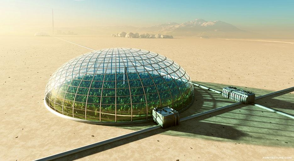 Greening the galaxy with:   Agritecture