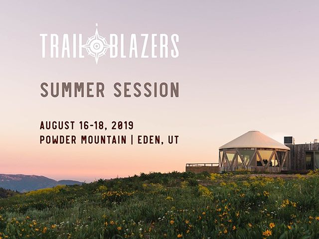 Pumped to present at #trailblazers2019