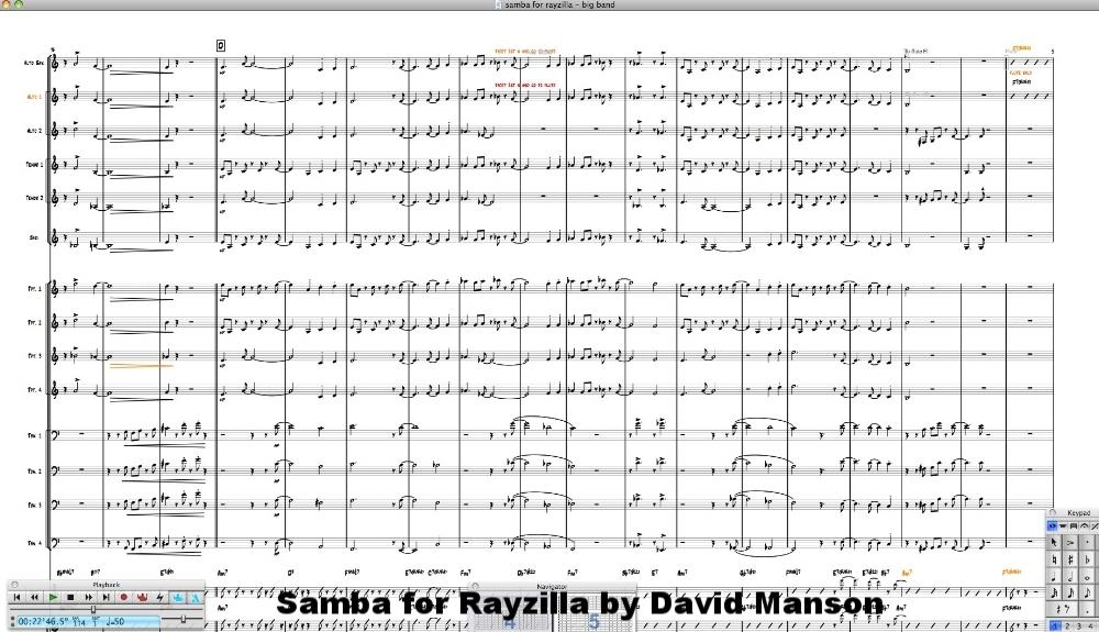 """Samba for Rayzilla"" by David Manson"