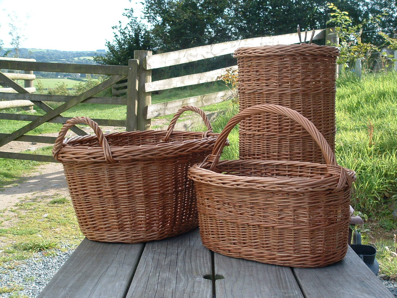 Laundry Basket, Umbrella Basket, Oval Basket