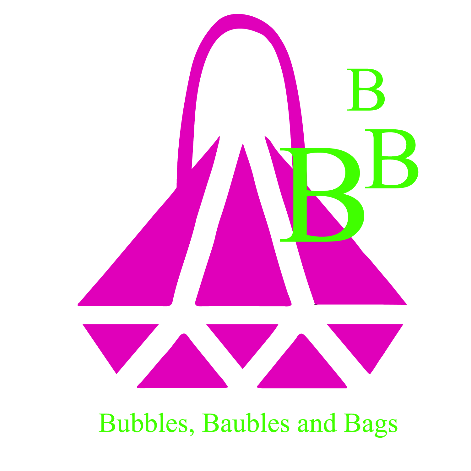 Bubbles, Baubles and Bags Logo