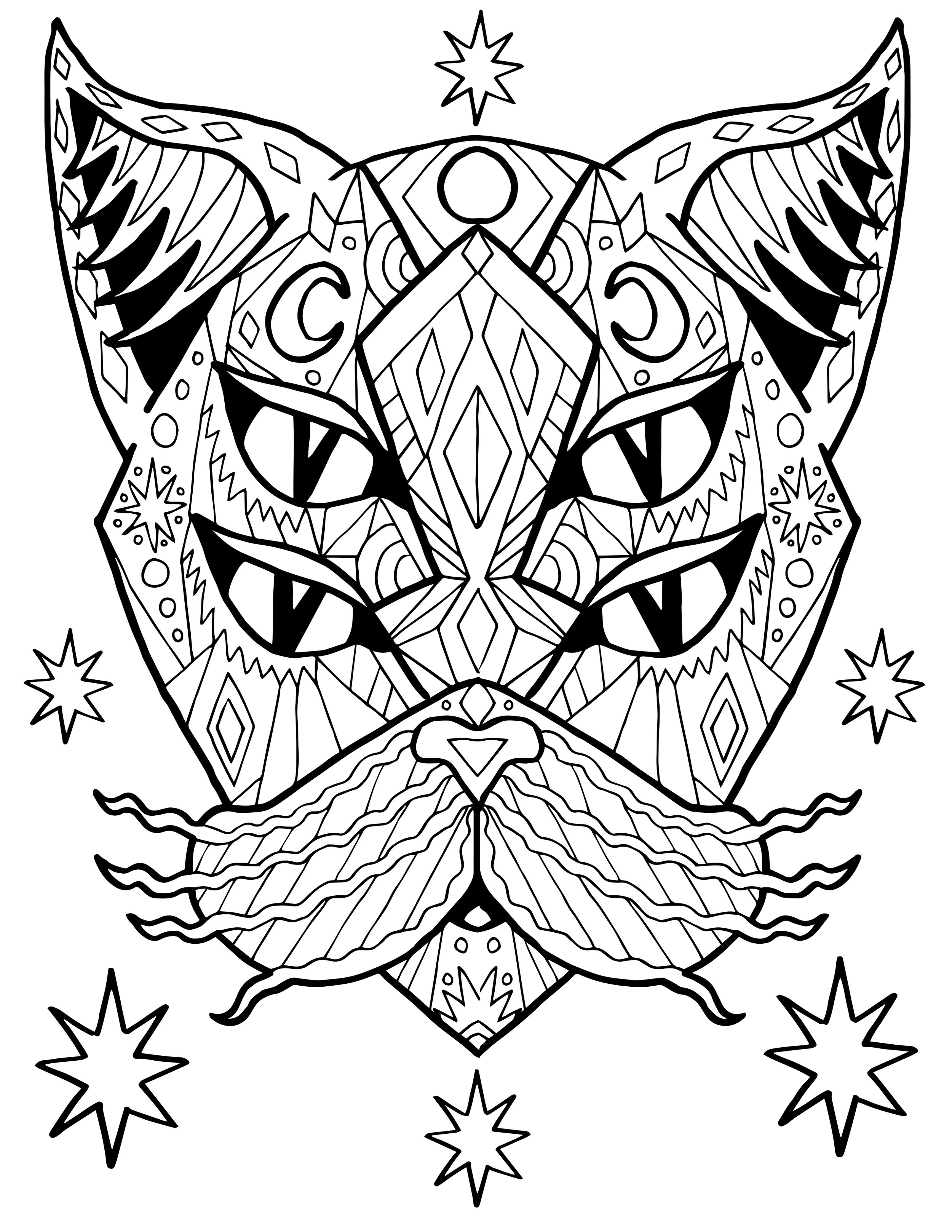 cat-coloring-page4