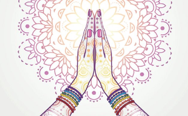 ~ Anjali Mudra ~ Artist Unknown
