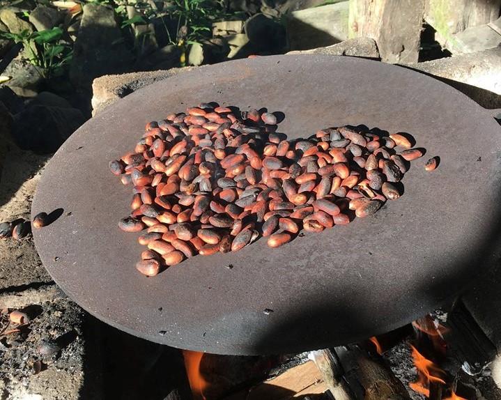 ~ Toasting process, by Kakao Mischa ~