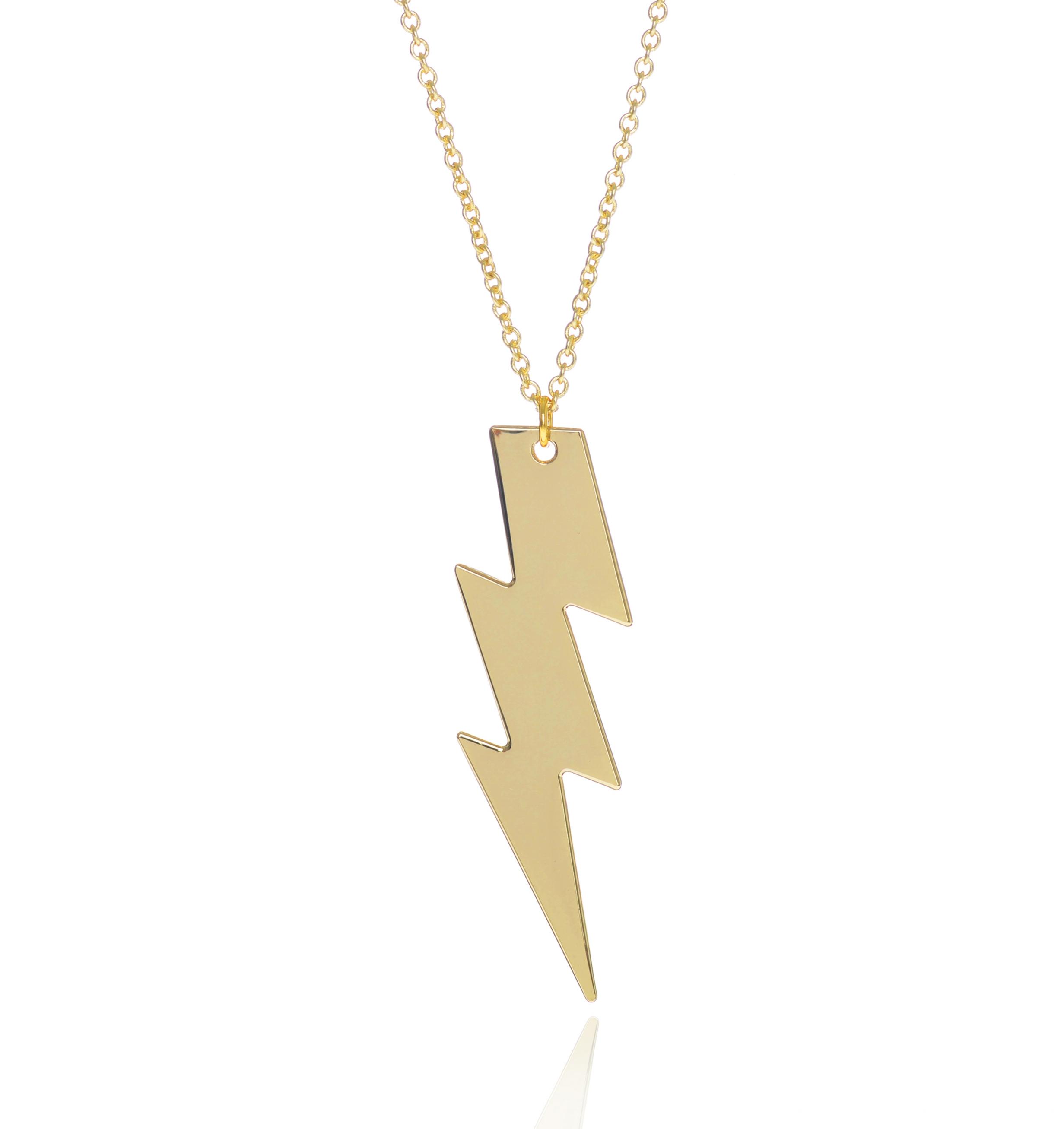 Cockatoo Lightening Bolt Necklace