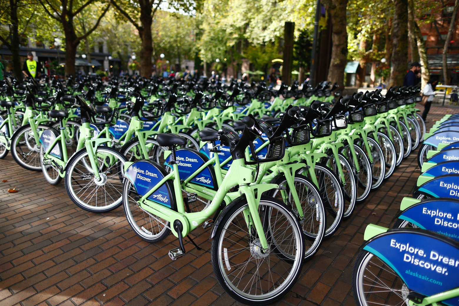 Meet Pronto, Seattle's bike sharing service.  (John Lok - Seattle Times)