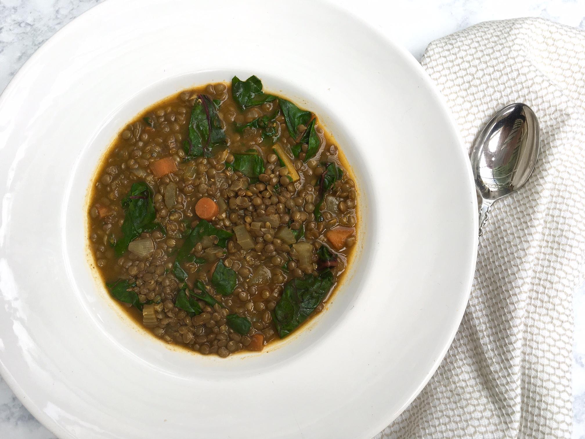 Vegetable Lentil Soup -