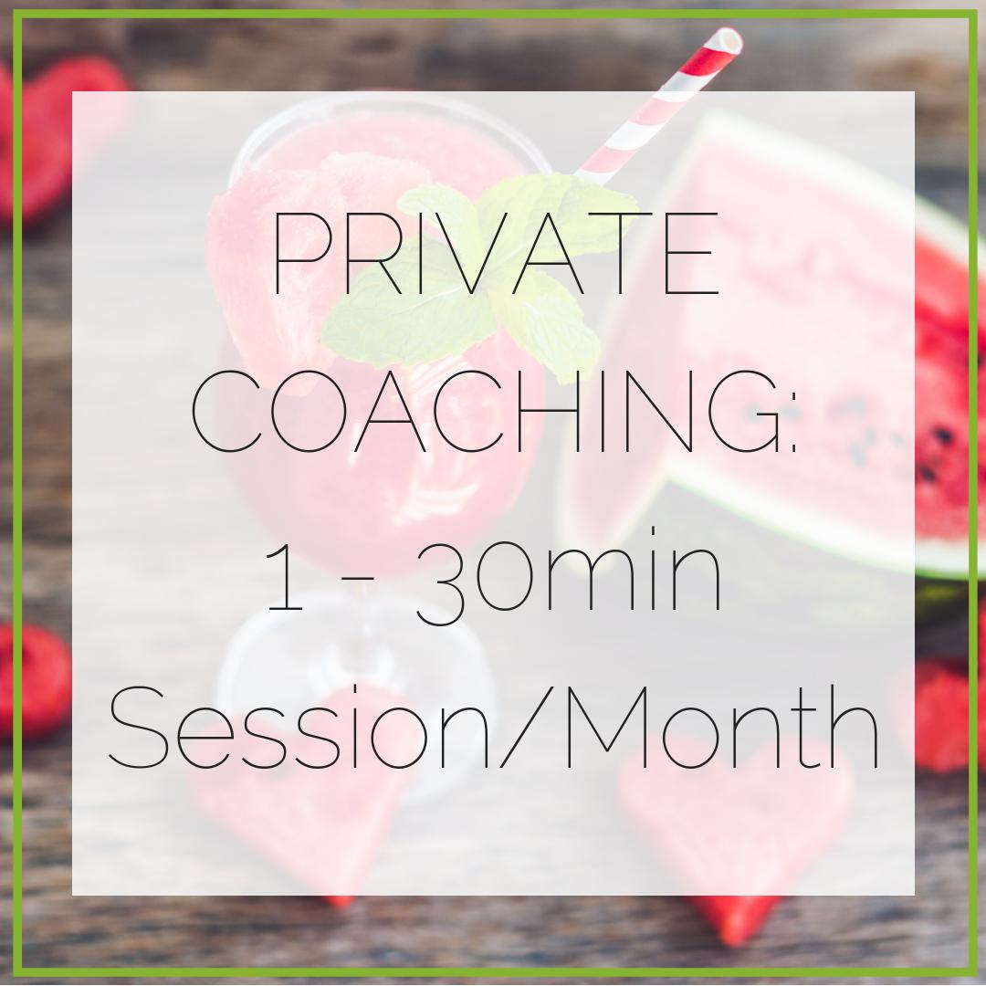 1-30min Session per month