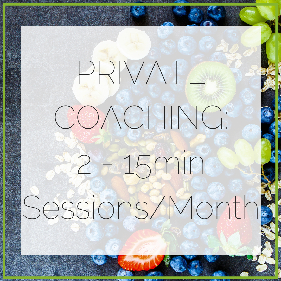 2-15min sessions per month