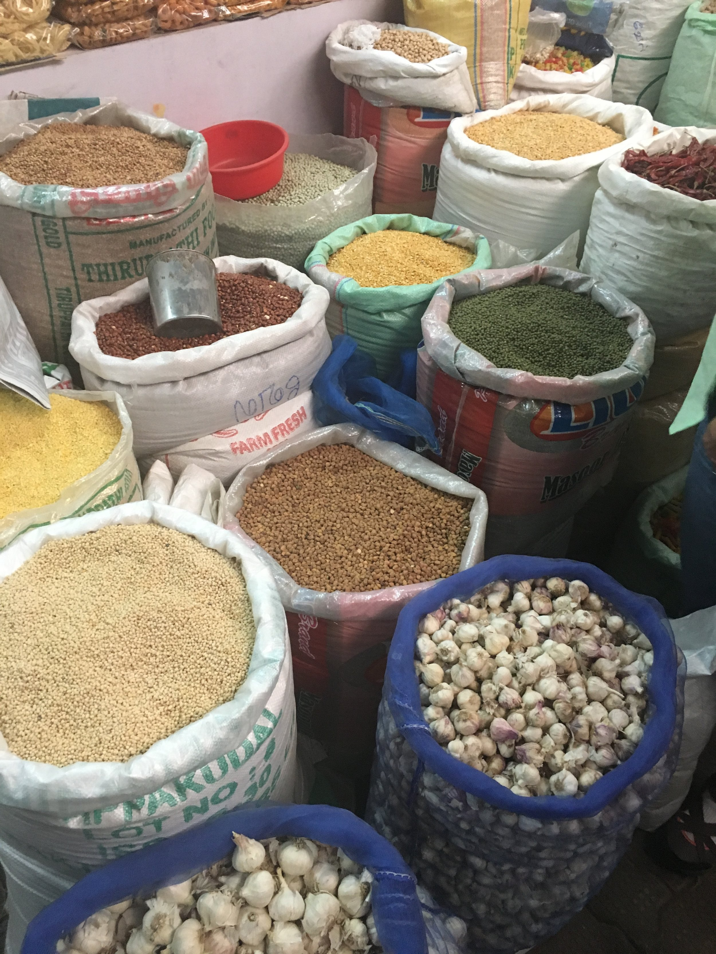 Different types of Daal and Lentils