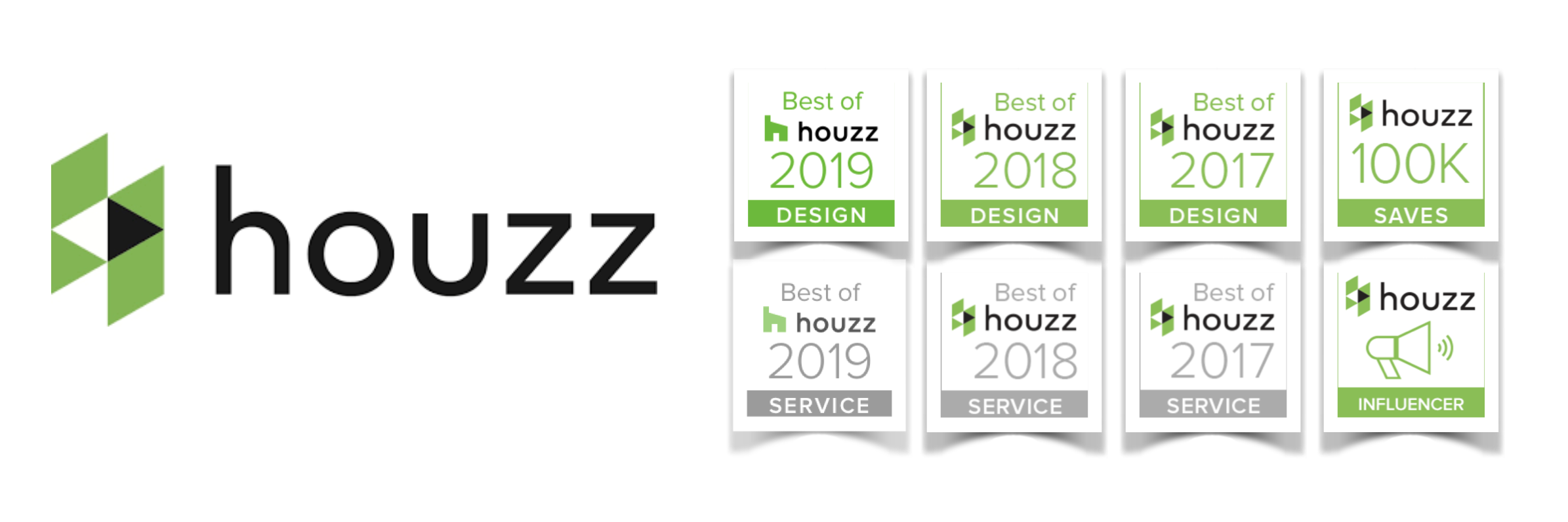 Gabriele and her team have been recognized and awarded houzz badges consistently over the years for her excellence in both service and design. At Houzz's 5th anniversary event hosted in Toronto, Pizzale Design Inc. received the top award for 'PowerHouzzer 2015'. This is awarded regionally to candidates who have overall comprehensive and influential design on the Houzz community.