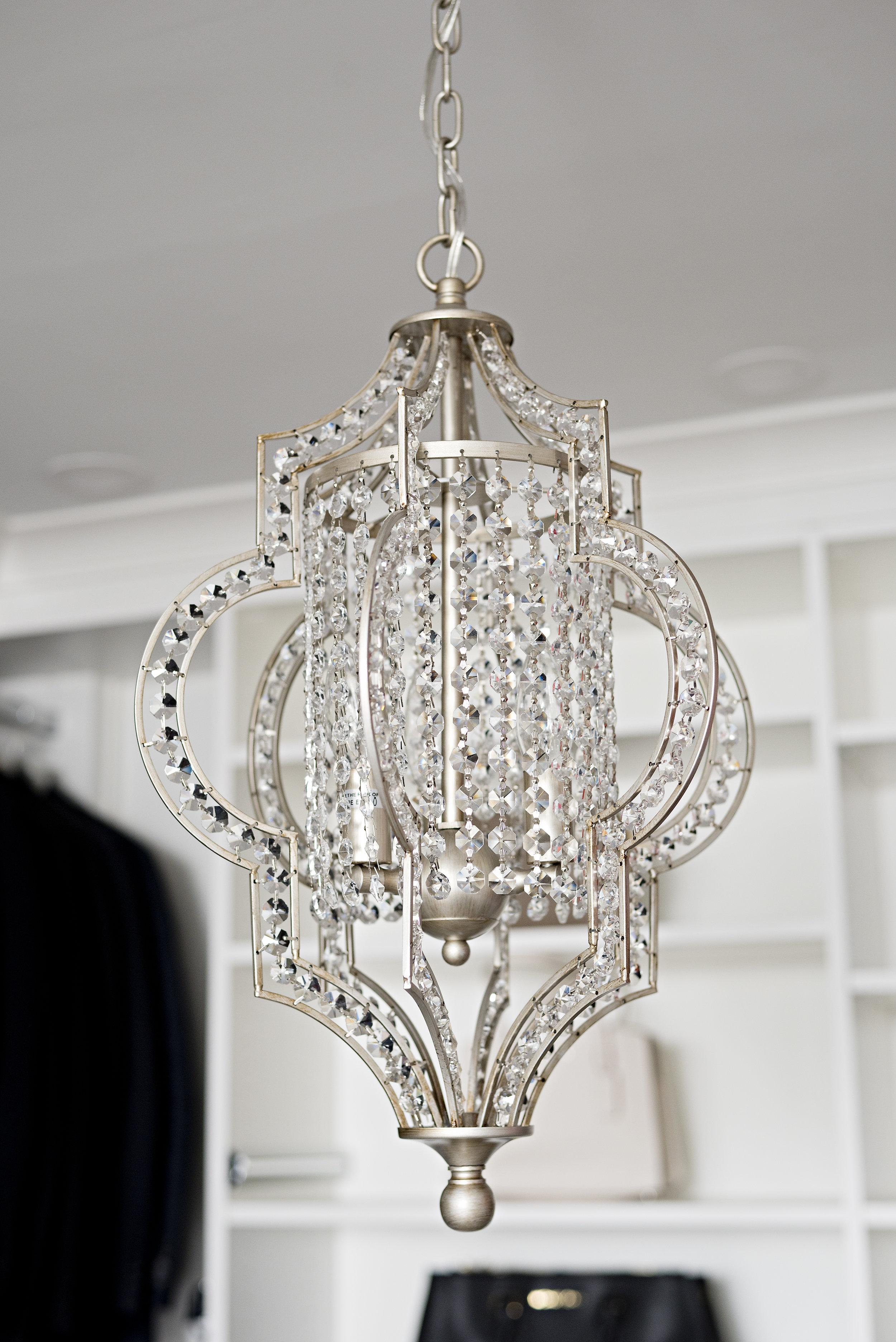 mini crystal chandelier satin nickel finish chain link moroccan inspired design style.jpg