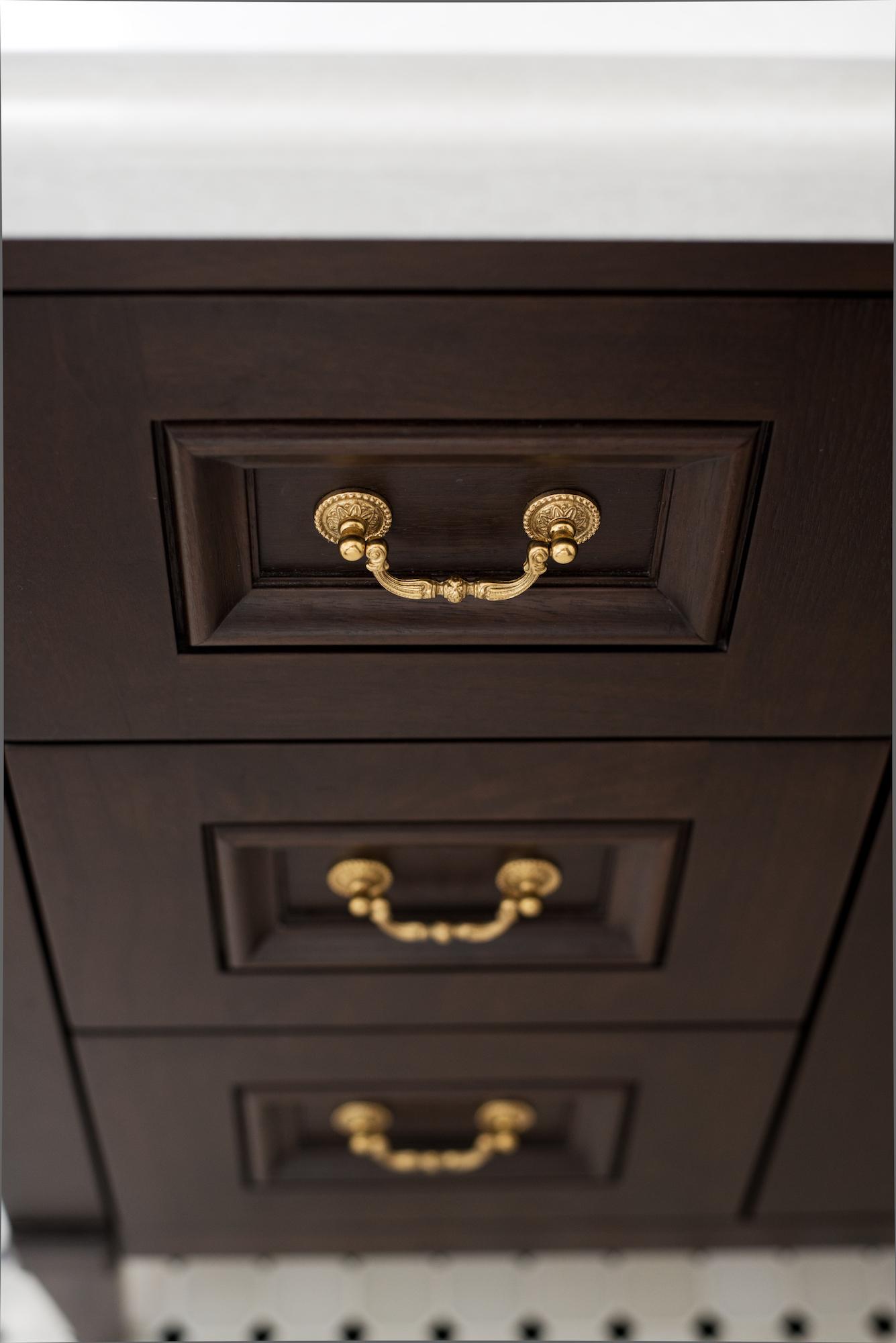 14 Pizzale Design Interior Decorating  bathroom dark wood gold hardware.jpg