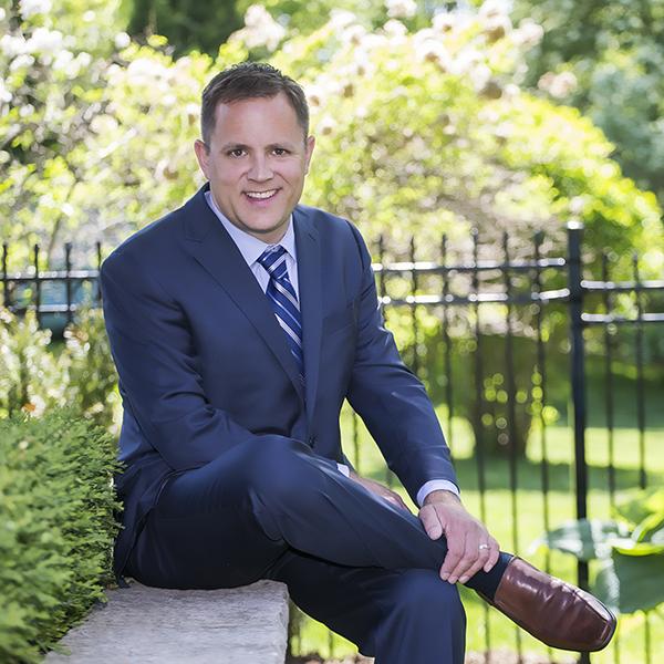 Portrait of Real Estate Agent, Greg Gubhim