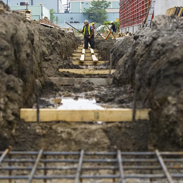 Construction of the Central Composting Facility, Hamilton Ontario