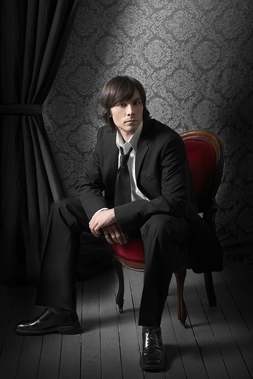 Copy of male model portrait photography by Jon Evans