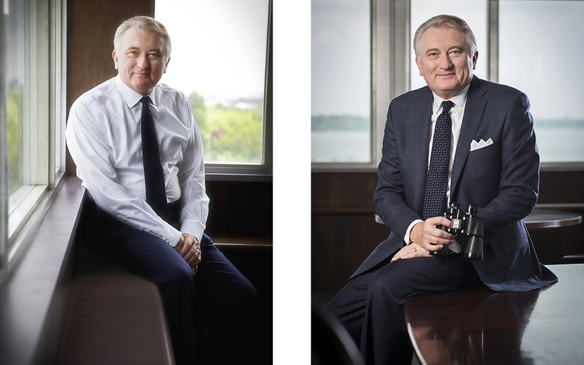 Hamilton Port Authority CEO portrait