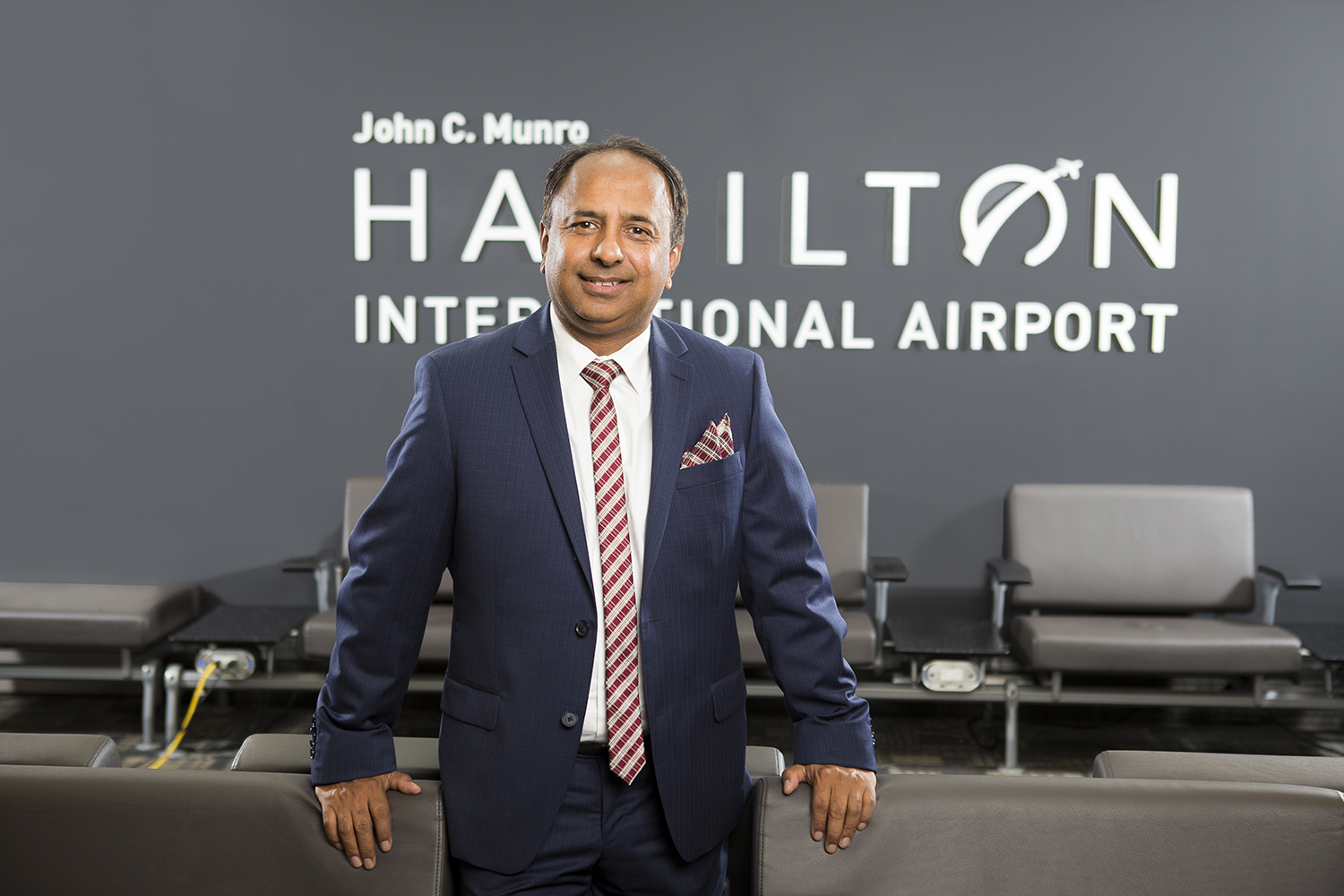 CEO portrait at Hamilton International Airport