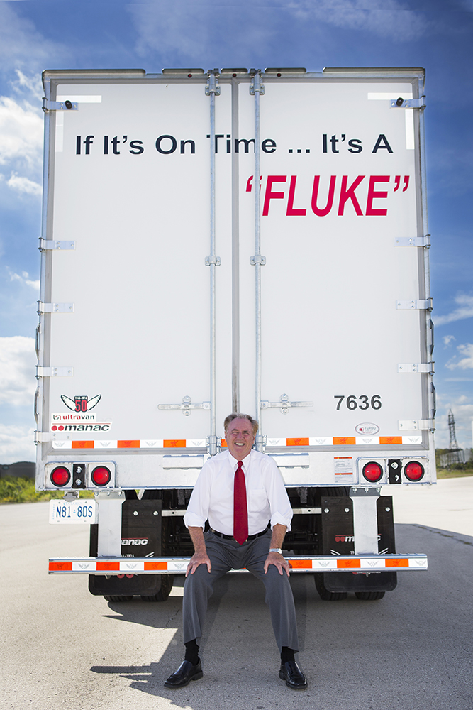 Fluke Transport Environmental Portrait